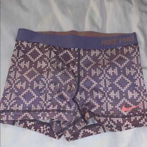 Nike spandex booty shorts